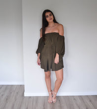 Load image into Gallery viewer, Shona Joy Core Off the Shoulder Mini Dress