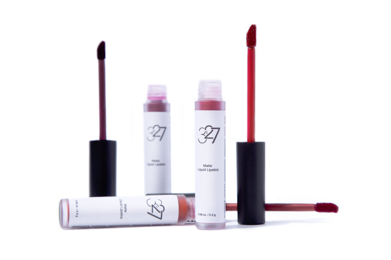 3:27 Matte Liquid Lipstick - Berry Bundle