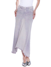 Load image into Gallery viewer, Selma Pieced Denim Midi Skirt