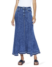 Load image into Gallery viewer, Maxi Hi-Low Denim Skirt