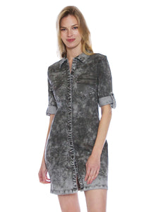 Urban Camo Denim Dress