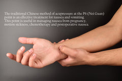 p6 acupressure point for nausea relief