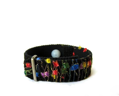 Anxiety Relief Bracelet, Rainbow Bracelet, Stress Relief Gifts, Stress Relief Bracelet, Anxiety Band, Anxiety Gifts, Stress Gift (single band) Rainbow - Acupressure Bracelets