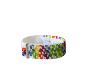 Anxiety/Stress Relief Bracelet (single band) Checkered Past - Acupressure Bracelets