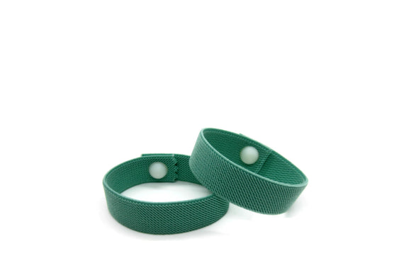 Waterproof Motion Sickness Wristbands, Pull On Elasticated, Travel Wristbands, Anti Nausea Bracelet, Morning Sickness Bracelet (pair) Sage - Acupressure Bracelets