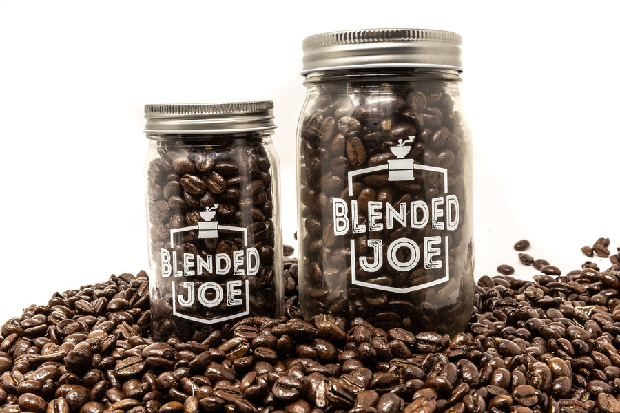 Blended Joe Mason Jars