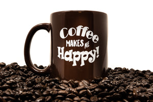 Blended Joe Coffee Make Me Happy Mug