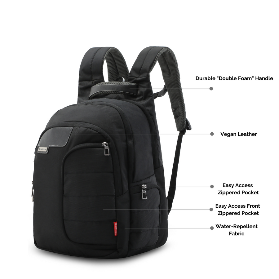 "Vervo 40L Premium Executive Laptop Backpack with 18 Unique Features (15.6"")"