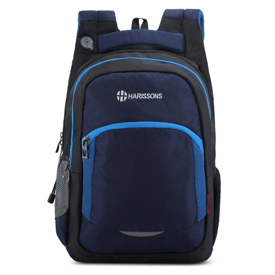"Xeno 33L Q4 Reflector Laptop Backpack with Free Rain Cover and  Handy Pouch(15.6"")"