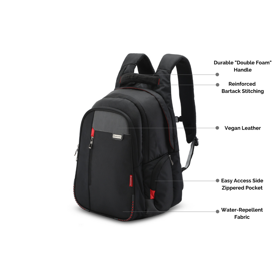 "Sirius 45L Premium Executive Laptop Backpack with 22 Unique Features (15.6"")"
