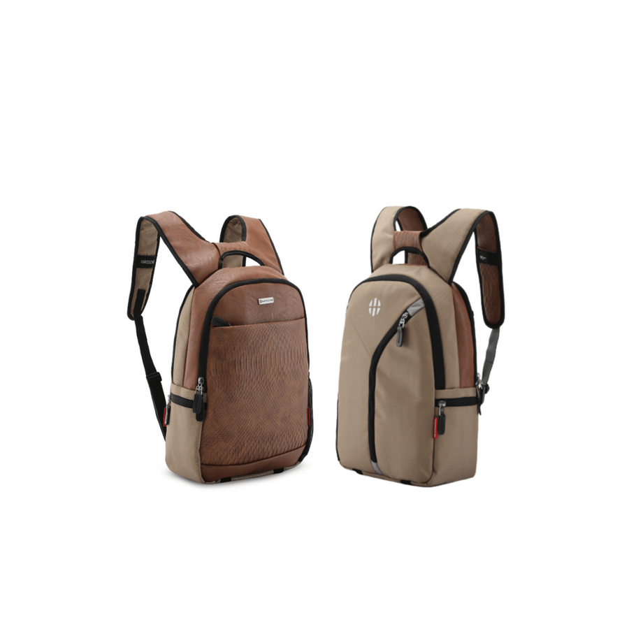 "Twin 16L Reversible Laptop Backpack (2 Personalities:1 Backpack) (14"")"
