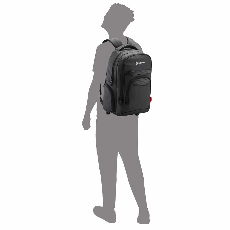 Clique Laptop Backpack Trolley - HarissonsBags