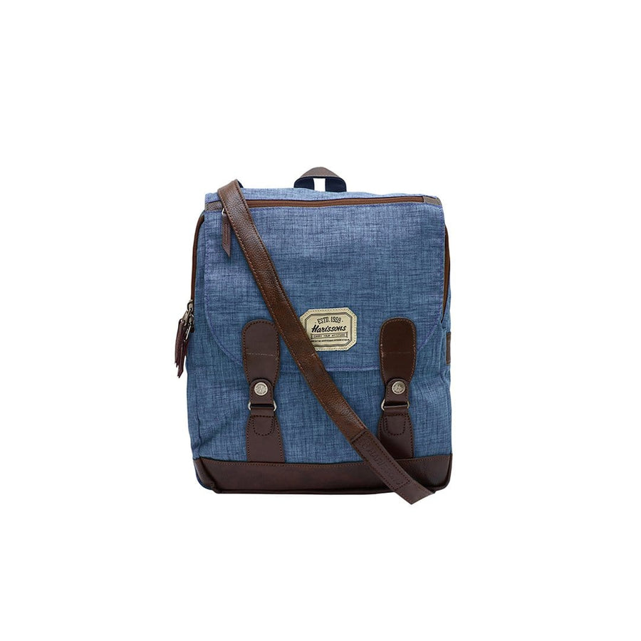 Slate 13L 2-in-1 Vintage Messenger Backpack