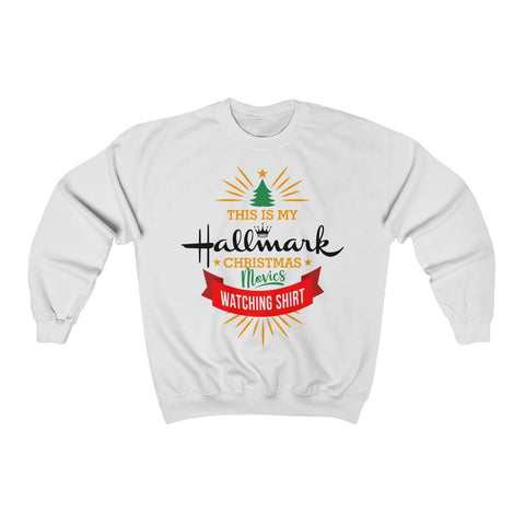 This Is My Hallmark Christmas Movie Watching Shirt Christmas Ugly Sweater