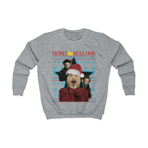 Post Malone Home Merry Ugly Christmas Sweater Kids Sweatshirt