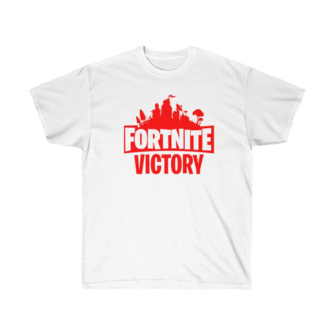 Fortnite Victory Game T Shirt Unisex Ultra Cotton Tee