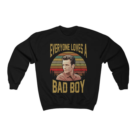 Beverly Hills 90210 Retro Dylan McKay Sweater Luke Perry  90210 Movie, Everyone Loves A Bad Boy 90210 Shirt