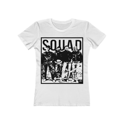 This Is My Killer Squad Halloween T Shirt Women's The Boyfriend Tee