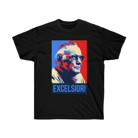 Stan Lee Excelsior Shirt - Comics Superheroes Stan Lee Superhero - RIP Stan Lee - Gift Christmas Marvel Family