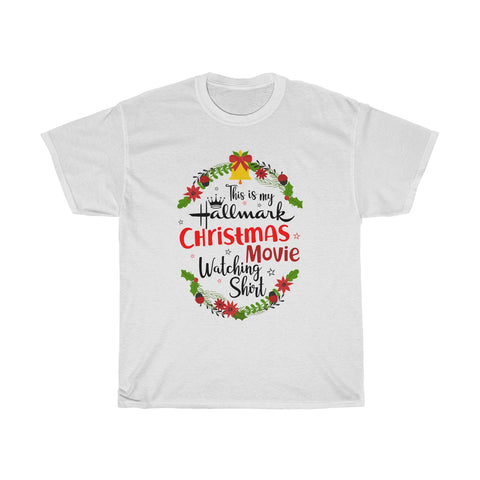 This Is My Hallmark Christmas Movie Watching Inspired - Merry Christmas Gift T Shirt