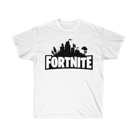 Fortnite Game T Shirt Unisex Ultra Cotton Tee