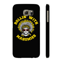 Rollin' With Mahomies Pat Mahomes Texas NFL Case Mate Slim Phone Cases Black