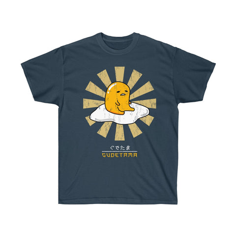 Gudetama Sanrio Tee Shirt - Gudetama JAPANESE Lazy Egg Whitte T Shirt - Lazy Egg Christmas Shirt
