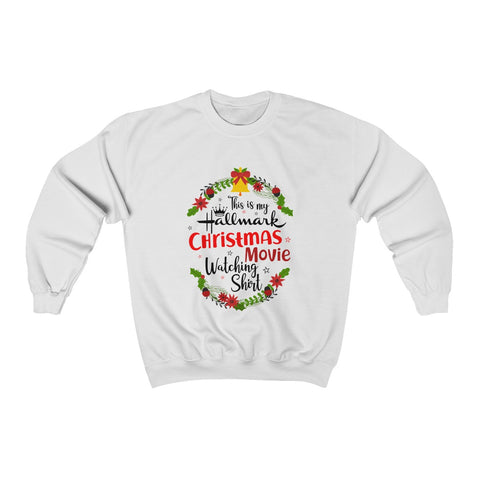 This Is My Hallmark Christmas Movie Watching Shirt Christmas Ugly Sweatshirt