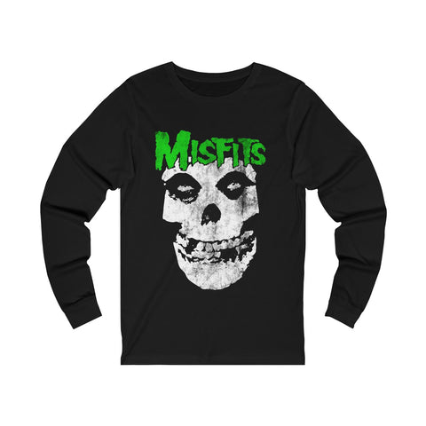 Misfits I Want Your Skull Halloween T Shirt Unisex Jersey Long Sleeve Tee