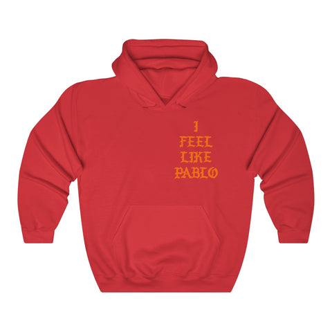 I FEEL LIKE PABLO KANYE WEST - I Feel Like Pablo The Real Life Of Pablo MSG Kanye West Unisex Hoodie