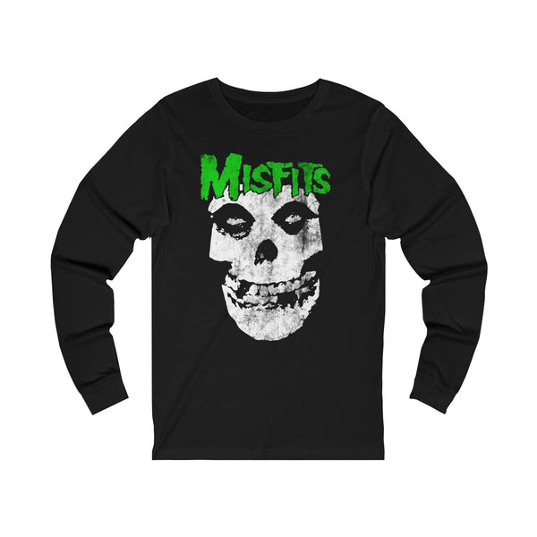 Misfits Halloween Shirt - Vegas Golden Knight Misfits T Shirt Unisex Jersey Long Sleeve Tee