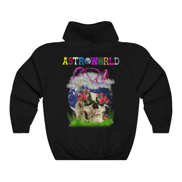 ASTROWORLD Roller Coaster Sweatshirt - Nostalgic Houston Texas Happiness T Shirt Hooded Sweatshirt