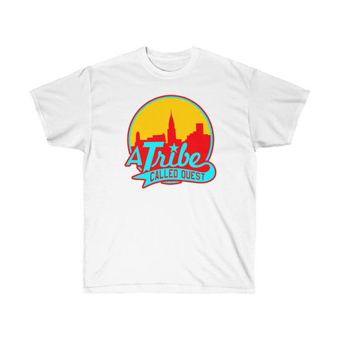 A TRIBE CALLED QUEST SKYLINE Hip Hop Rap Unisex Ultra Cotton Tee