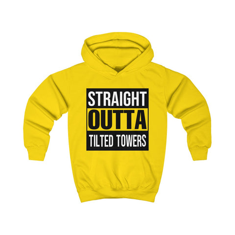 Fortnite Shirt Straight Outta Tilted Towers Kids Hoodie