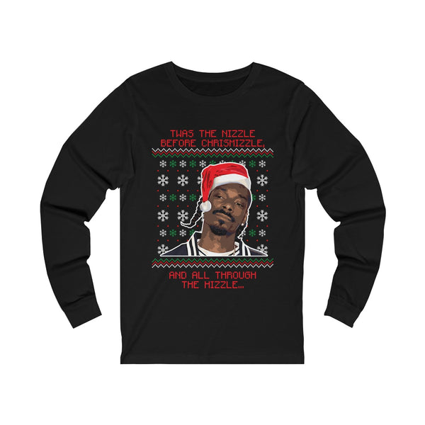 Snoop Dogg Ugly Christmas Unisex Jersey Long Sleeve Tee