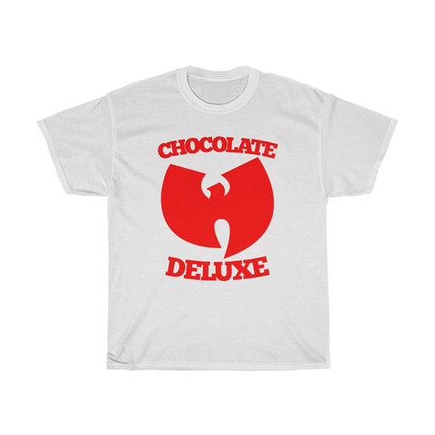Cool Wutang Chocolate Deluxe Music Hip Hop T Shirt Unisex Heavy Cotton Tee
