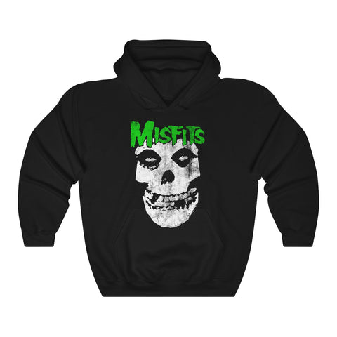 Misfits Hoodie Vegas Golden Knight Misfits T Shirt Unisex Heavy Blend™ Hooded Sweatshirt - Front and Back Side