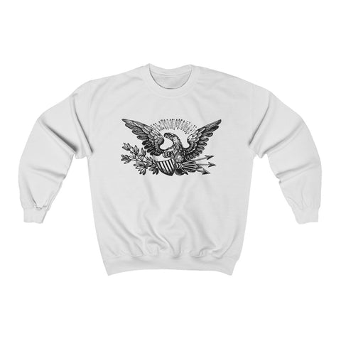 Ally A Star Is Born Shirt - Lady Gaga Ally Eagle Tee - Retro Vintage Eagle T Shirt Unisex Heavy Blend™ Crewneck Sweatshirt