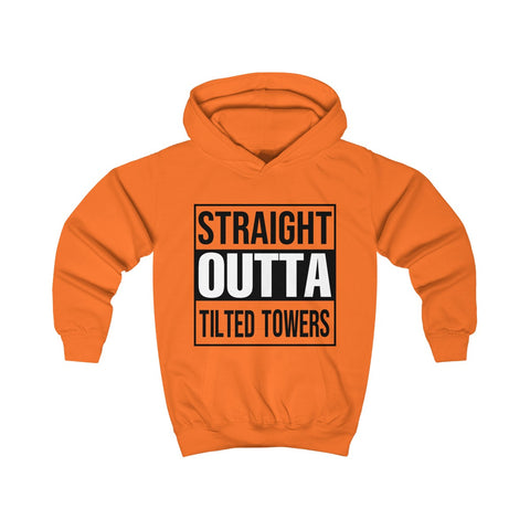Fortnite T Shirt Straight Outta Tilted Towers Kids Hoodie