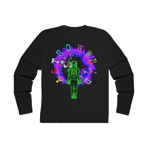 Astroworld Wish You Were Here Black Long Sleeve Shirt