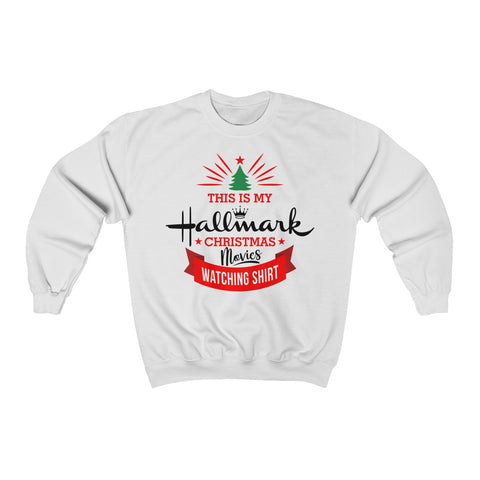 This Is My Hallmark Christmas Movie Watching Shirt Christmas Ugly Sweater Sweatshirt