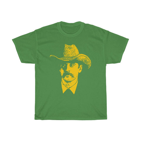 The Wisconsin Slinger The Goat T Shirt Green Unisex Heavy Cotton Tee