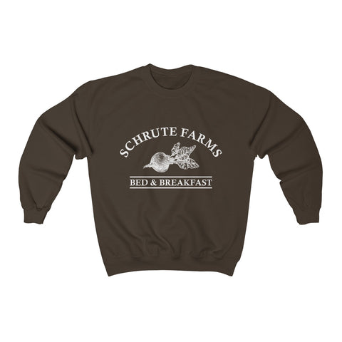 Schrute Farms Crewneck Sweatshirt The Office Dunder Mifflin Dwight Schrute The Office Shirt The Office Merch Sweater