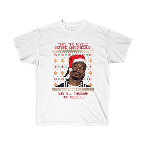 Snoop Dogg Ugly Christmas Shirt Unisex Ultra Cotton Tee