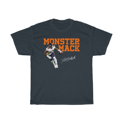 Khalil Mack Chicago Bears Monster of the Midway Unisex Heavy Cotton Tee