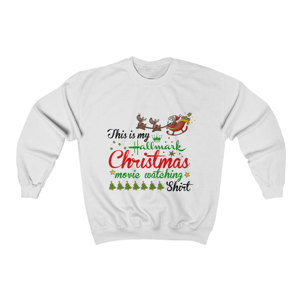 This Is My Hallmark Christmas Movie Watching Shirt Ugly Christmas Sweater