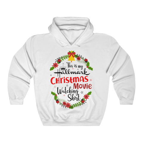 This Is My Hallmark Christmas Movie Watching Inspired - Merry Christmas Gift Unisex Heavy Blend™ Hooded Sweatshirt