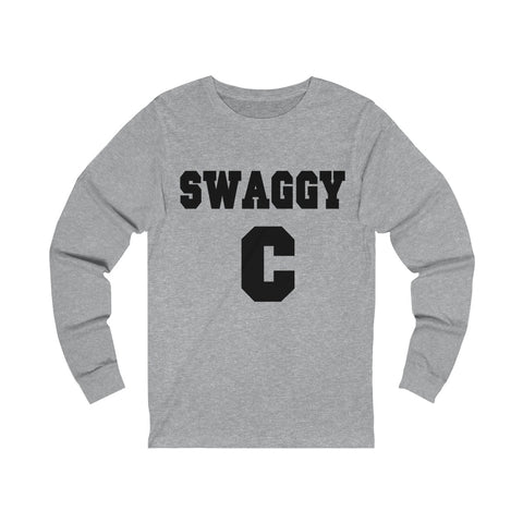 "Chris ""Swaggy C"" Williams Unisex Jersey Long Sleeve Tee"