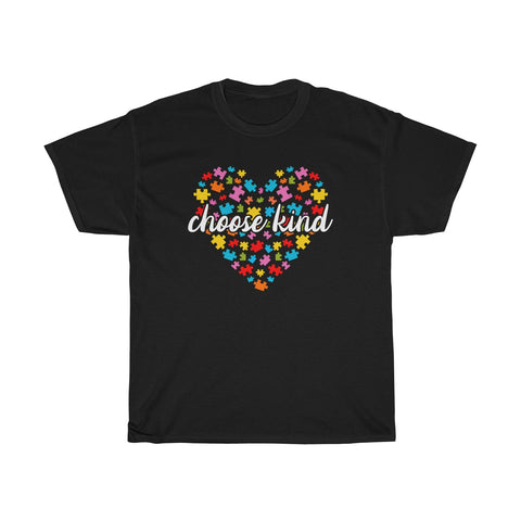 Choose Kind Shirt - Austism Love Puzzle Shirt - In a world where you can be anything be kind - Teacher Shirt - Autism Awareness - Choose Kindness - Be Kind Shirt - Choose Kind Shirt