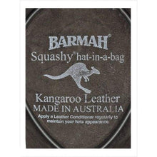 Load image into Gallery viewer, Barmah Leather Hats - 1018 Squashy Kangaroo Hickory Hat - J and p hats Barmah Leather Hats - 1018 Squashy Kangaroo Hickory Hat